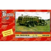 Bum 5028 Guerra Civil Espanola Fuel Truck Bz-38 1/72