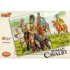 HAT HAT8021 Roman Cavalry - 12 mounted 1/72