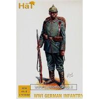 HAT HAT8200 German Infantry (WWI) x 48 figures 1/72