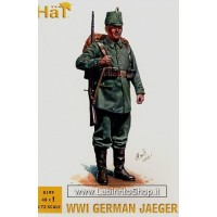 HAT HAT8199 German (WWI) Jaegers x 48 figures 1/72