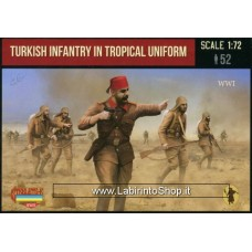 Strelets - M122 - WWI Turkish Infantry in Tropical Uniform 1/72