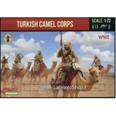 Strelets - 167 WWI Turkish Camel Corps 1/72