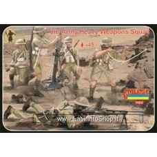 Strelets - M132 WWII 8th Army Heavy Weapons Squad 1/72