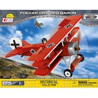 Cobi Historical Collection WW1 Fokker Dr.1 Red Baron 175 Piece