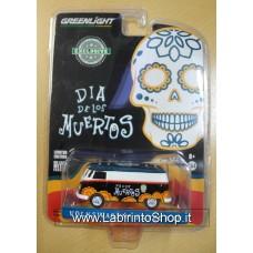 Greenlight - 1/64 - Dia del Los Muertos - Hobby Exclusive - Volkswagen Panel Van