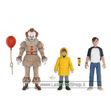 Funko Action Figures It 2017 Pennywise, Bill, George, 3 Pack