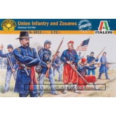 Italeri - Union Infantry and Zouaves - 1:72