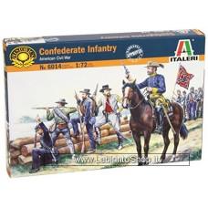 Italeri - Confederate Infantry - 1:72