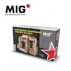 Mig Production - WWII German Government Damaged Building 1/72