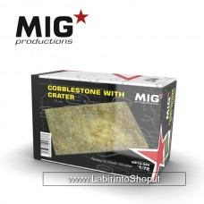 Mig Production - Cobblestone With Crater 1/72