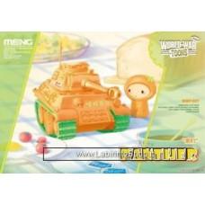 Meng wwt-007 WWT German Medium Tank PzKpfw V Panther World War Toons Orange Green