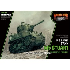 Meng wwt-12 U.S Light Tank M5 Stuart World War Toons
