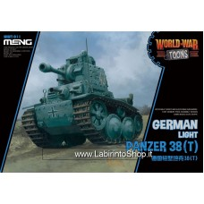 Meng wwt-011 German Light Panzer 38(T) World War Toons