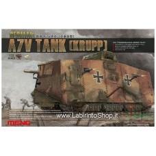 Meng TS-017 WWI German A7V Tank (Krupp) 1/35 Scale