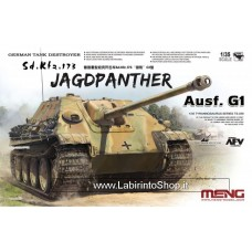Meng TS-039 WWII German Sd. Kfz. 173 Jagdpanther Ausf. G1 1/35 Scale