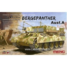 Meng SS-015 WWII German Armored Recovery Vehicle Sd. Kfz. 179 Bergepanther Ausf. A 1/35 Scale