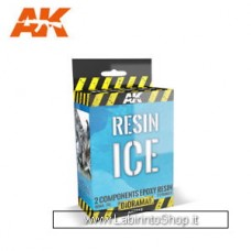 AK Interactive - AK8012 - Resin Ice 2 components Epoxy Resin 150ML
