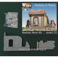 Deposito in Rovina - Factory in Ruins 1/72