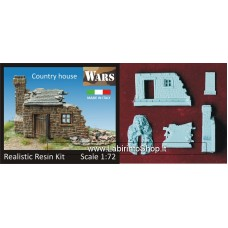 Casa di campagna in rovina - Country House Ruins 1/72