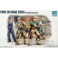 Trumpeter 1/35 PMC in Iraq 2005 Vip Security Guard