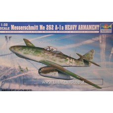Trumpeter 1/32 Messerschmitt ME 262 A-1 Heavy Armament