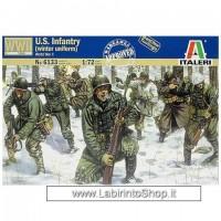 Italeri - 6133 - WWII U.s. Infantry Winter Uniform 1/72