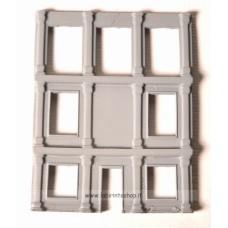 Labirinto - Frontale Casa 3 Piani -  Scala 1/144