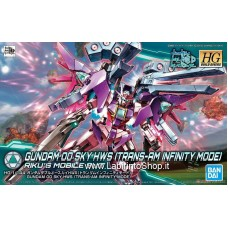 Gundam 00 Sky HWS (Trans-AM Infinite Mode) (HGBD) (Gundam Model Kits)