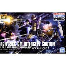 GM Intercept Custom (HG) (Gundam Model Kits)