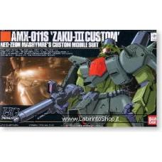 AMX-011 Zaku III Custom (HGUC) (Gundam Model Kits)