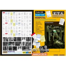 ETA Diorama - 228 - Zombie Modern - 1/35 - Hospital Documents Radiography