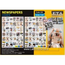 ETA Diorama - 232 - Zombie Modern - 1/35 - Modern Newspaper - Covers