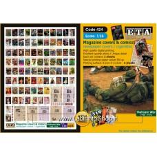 ETA Diorama - 424 - Vietnam War 1965-1973 - 1/35 - Vietnam Covers and Comics