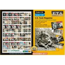 ETA Diorama - 418 - WWII - 1/35 - U.S. Yank Magazine Cover, back and Internal
