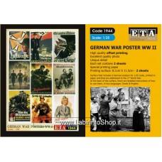 ETA Diorama - 1944 - WWII - 1/35 - German War Posters