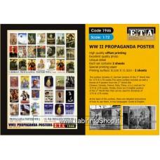 ETA Diorama - 1946 - WWII - 1/72 - Propaganda Posters