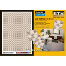 ETA Diorama - 323 - For All Season - 1/35 - Bathroom Tiles