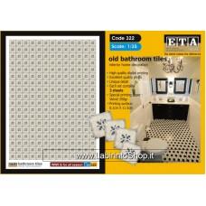 ETA Diorama - 322 - For All Season - 1/35 - Bathroom Tiles