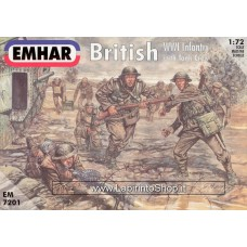 Emhar EM 7201 - 1/72 - British WWI Infantry with Tank Crew