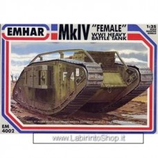 Emhar EM 4002 - 1/35 - MkIV Female WWI Heavy Battle Tank