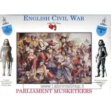 A Call to Arms - 1/32 - Serie 5 - English Civil War - Parliament Muskateers