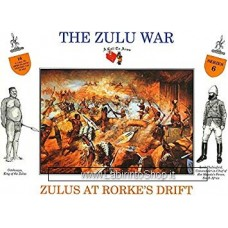 A Call to Arms - 1/32 - Serie 6 - The Zulu War - Zulus At Rorke's Drift