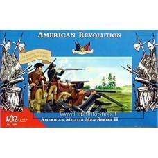 Imex - 1/32 - 3201 - American Revolution - American Militia Men