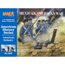 Imex - 1/72 - American Infantry Mexican American War # 535