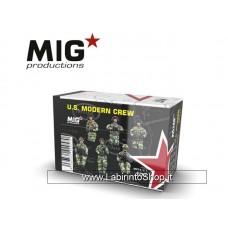 Mig Production - U.S. Modern Crew 1/72