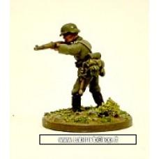 Dixon Minitures - 1/72 - WWII - GEM35 - Standing firing rifle