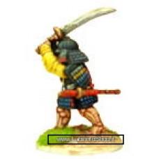 Dixon Minitures - Samurai Wars - KS05 - Samurai wielding no-dachi overhead