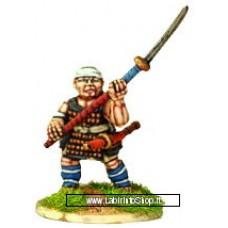 Dixon Minitures - Samurai Wars - KS10 - Ashigaru - wielding naginata