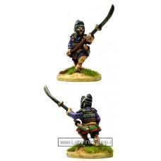 Dixon Minitures - Samurai Wars - KS26b - Ashigaru charging with Naginata