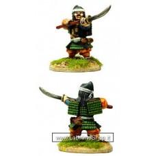 Dixon Minitures - Samurai Wars - KS25b - Samurai wielding Naginata